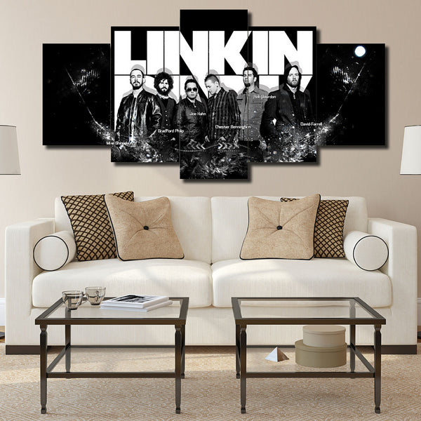 Canvas Wall Art -  Linkin Park
