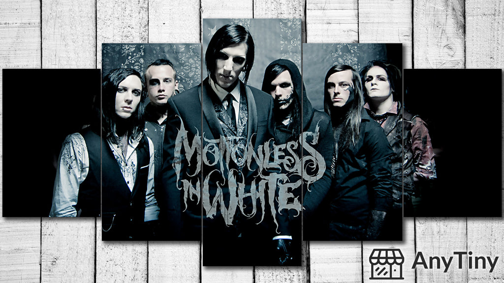 Canvas Wall Art -  Motionless In White