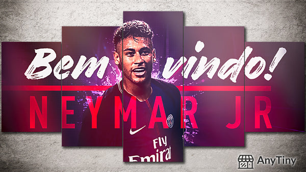 Canvas Wall Art -  Neymar PSG