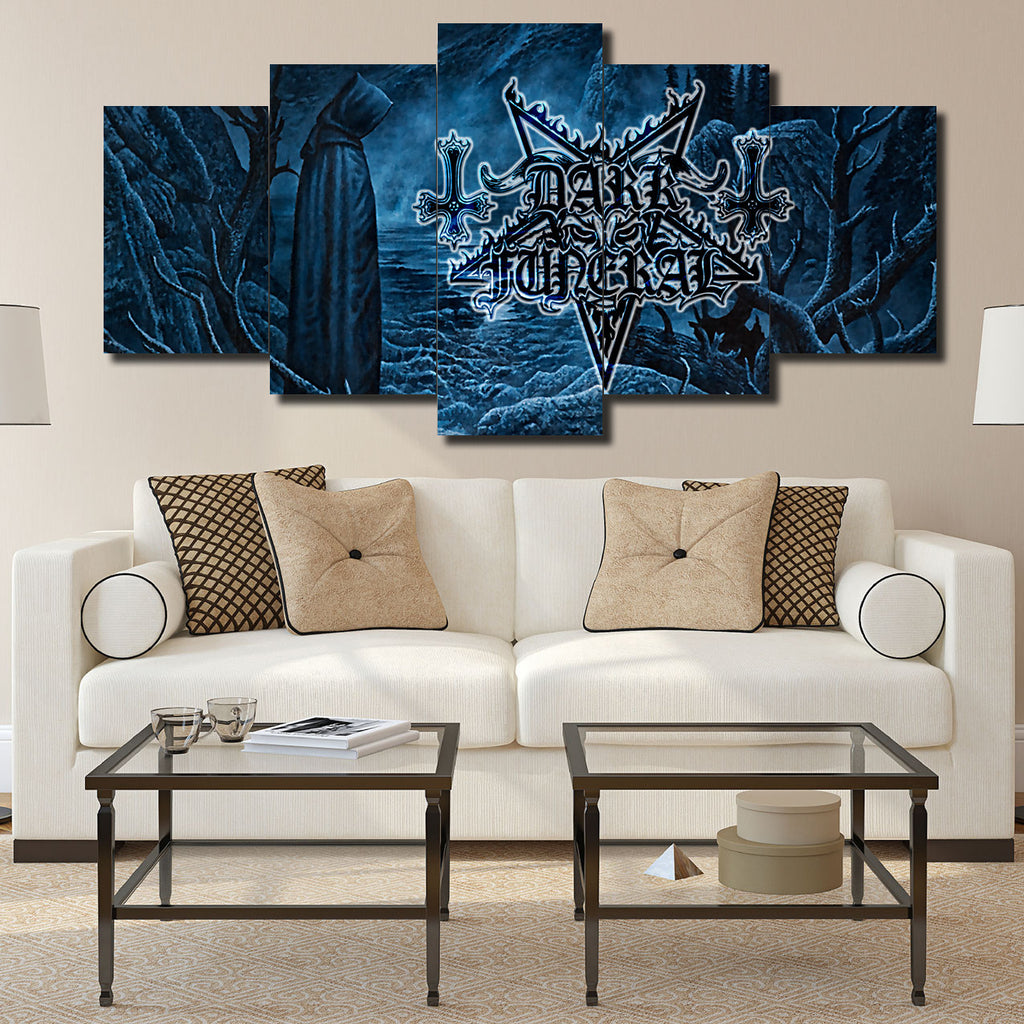 Canvas Wall Art -  Dark Funeral
