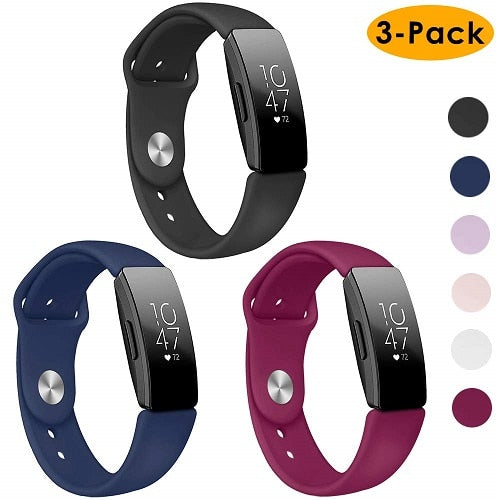 3pcs/pack Fitbit Inspire Sport Band