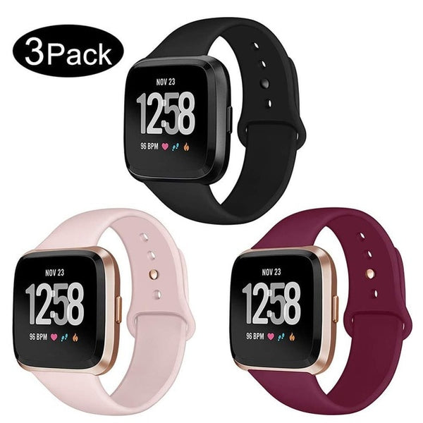 3 Pack - Versa Silicone Bands