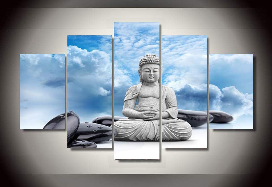 Canvas Wall Art - Buddha Meditation