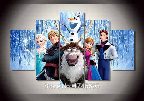 Canvas Wall Art - Frozen