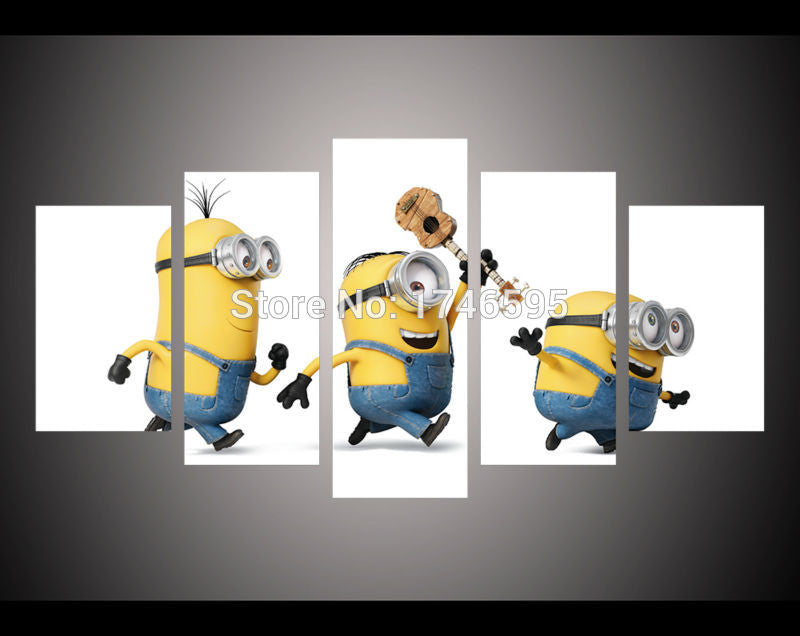 Canvas Wall Art - Minions