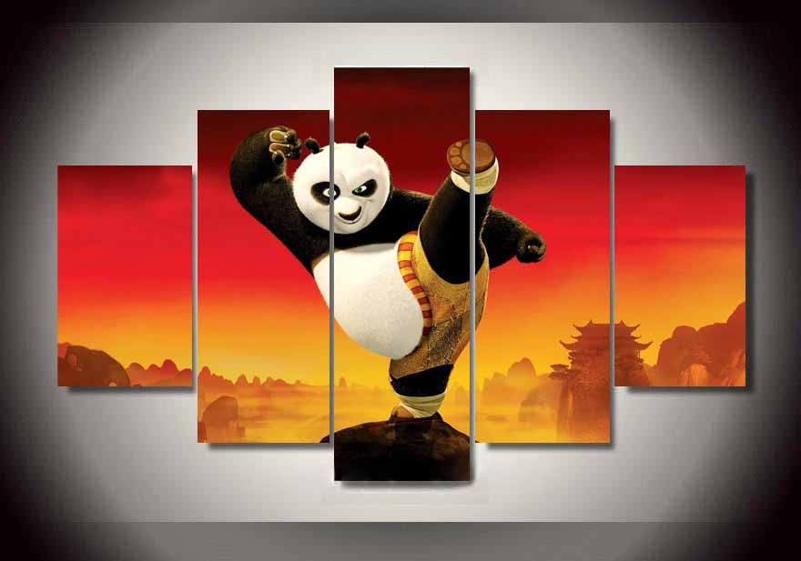 Canvas Wall Art - Kung Fu Panda