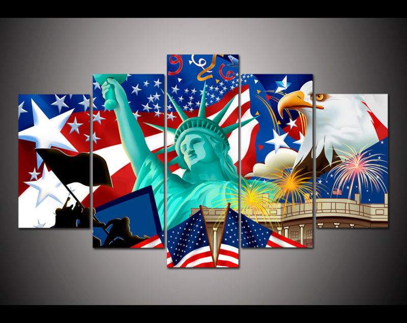 Canvas Wall Art - Independence Day