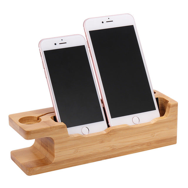 Wooden Gadget Holder