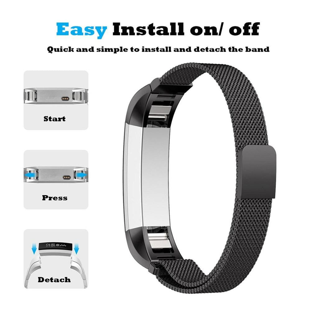 Fitbit Alta Strap - Milanese Magnetic Lock