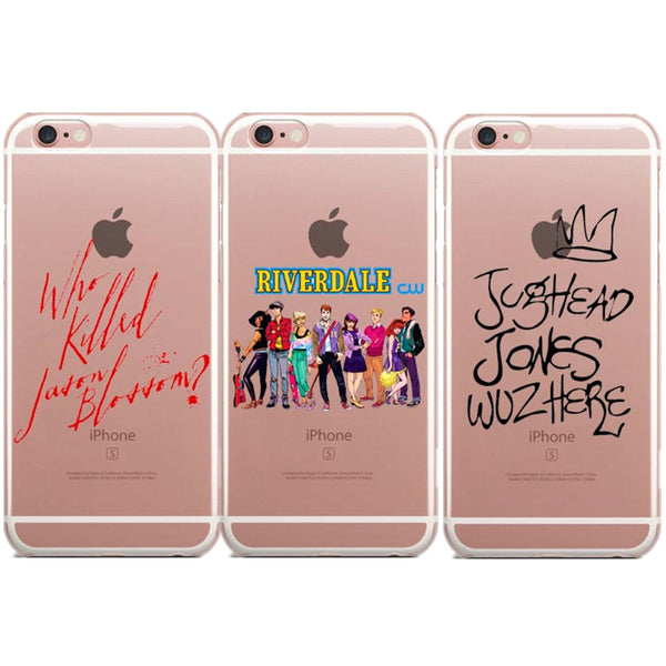 Transparent Phone Case - Riverdale (iPhone, Samsung)