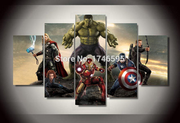 Canvas Wall Art - The Avengers