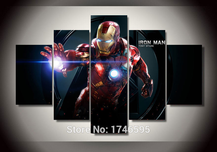 Canvas Wall Art - Iron Man