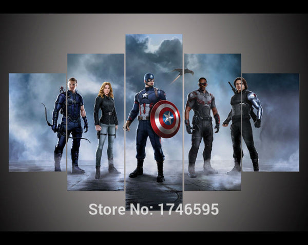 Canvas Wall Art - The Avengers 2