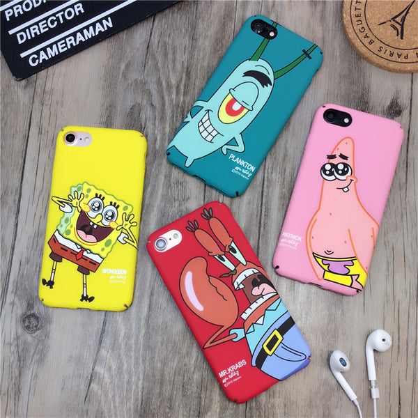 iPhone Case - Sponge Bob Patrick