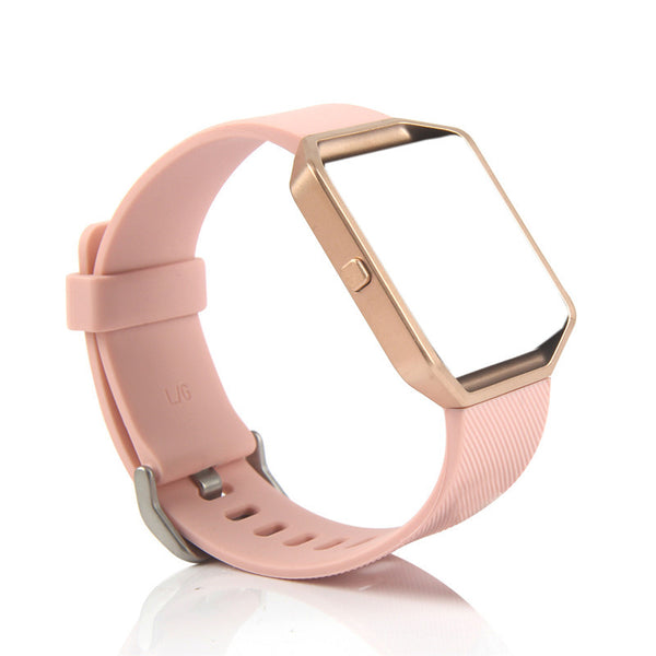 Blaze Silicon Band with Rose Gold Frame