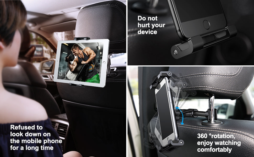 Car Back Seat Phone / Tablet / iPad Holder
