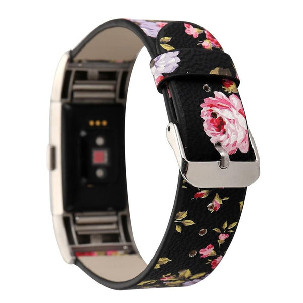 Leather Flowery Band
