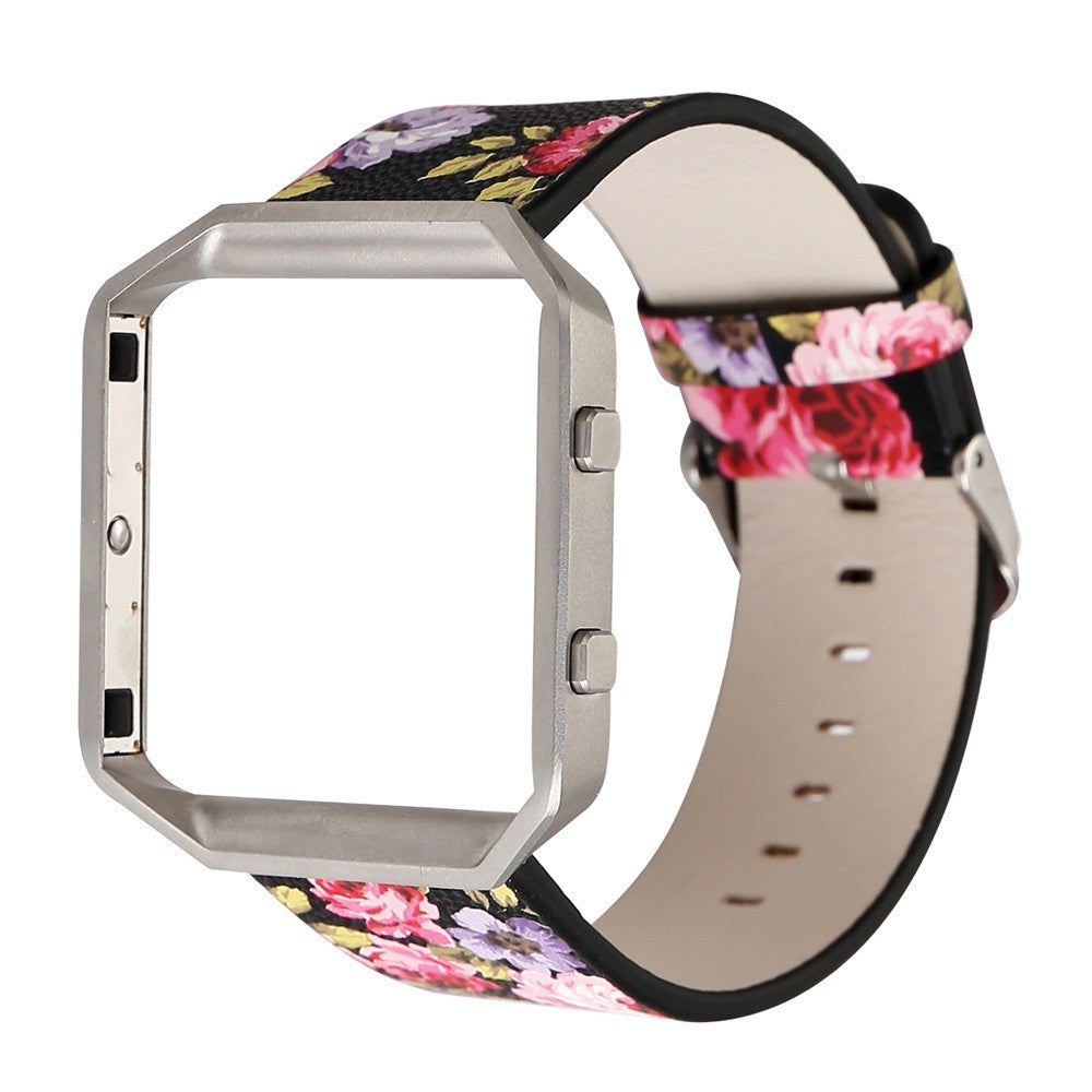 Leather Floral Band