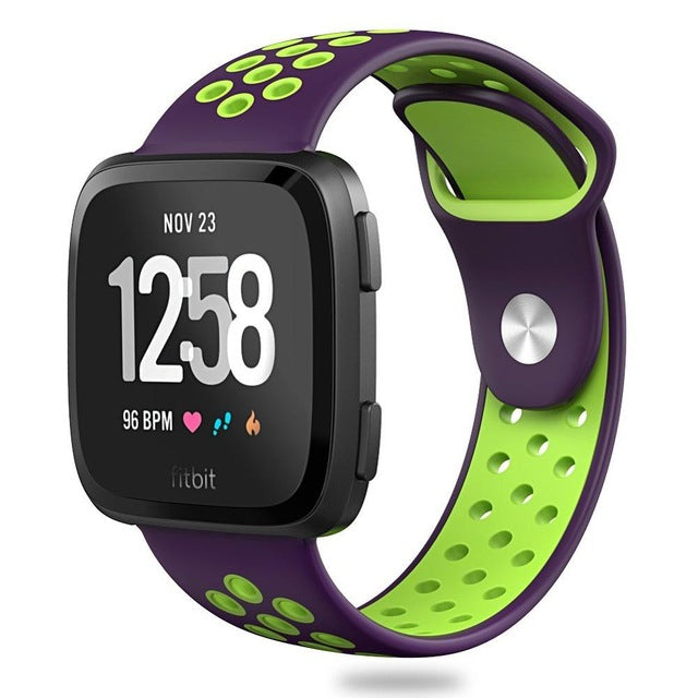 Versa Silicone Double Color Strap