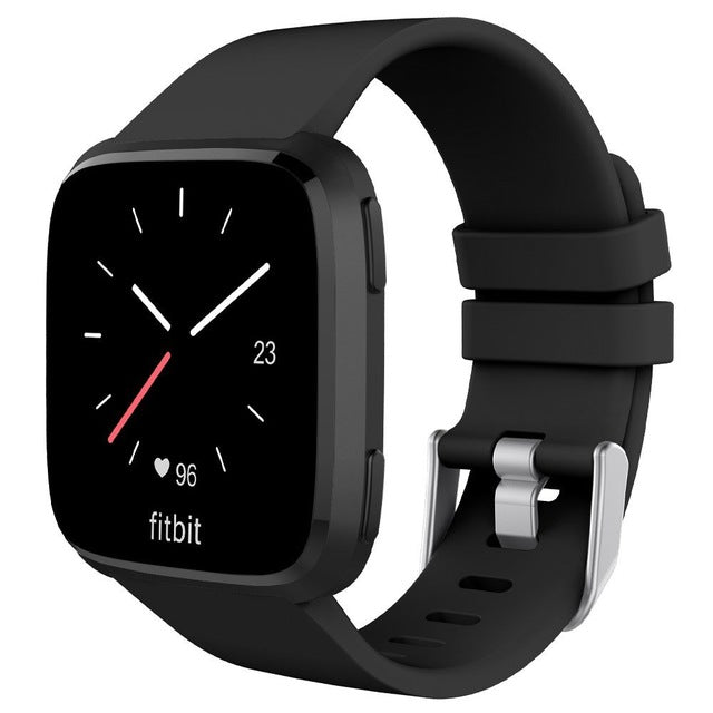 Versa Solid Silicone Band