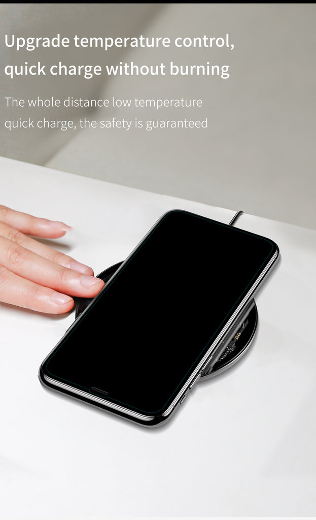 10W Qi Wireless Charger - Quick