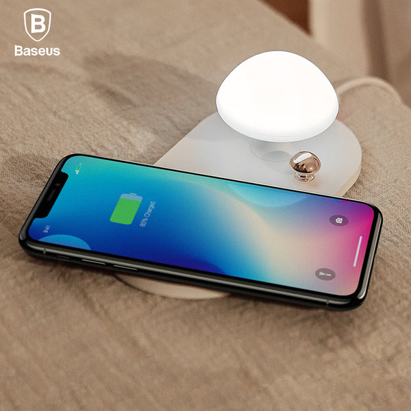 Wireless Charger With Night Lamp