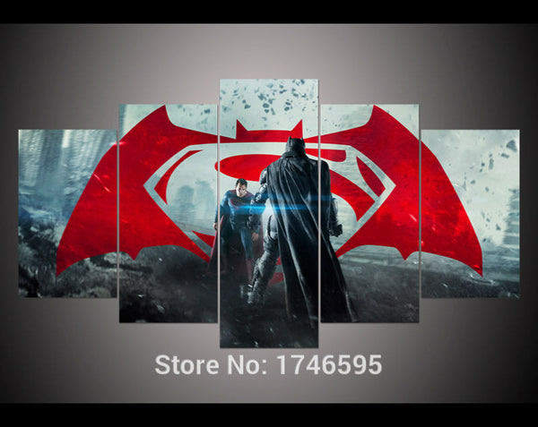 Canvas Wall Art - Batman V Superman Dawn of Justice