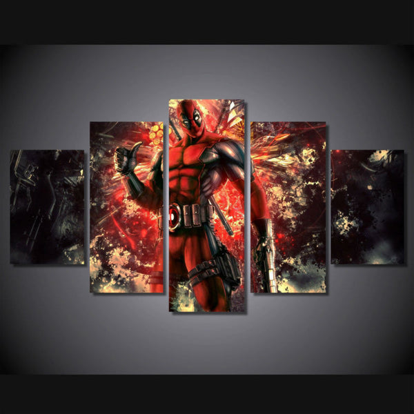Canvas Wall Art - Deadpool Comic