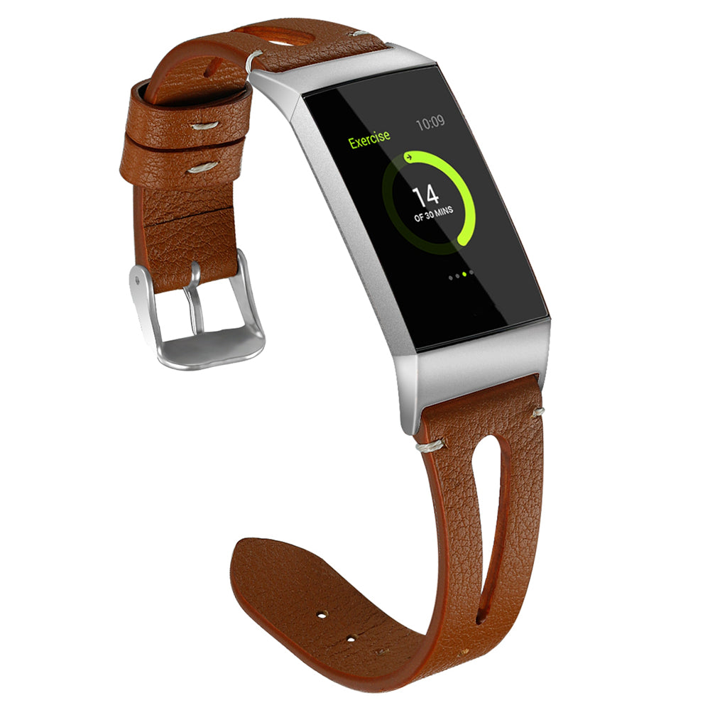 Charge 3 Leather Band