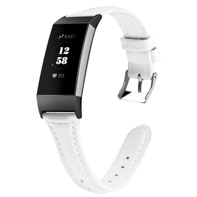 Charge 3  Leather Bands