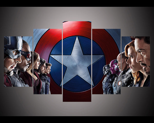 Canvas Wall Art - The Avengers 3