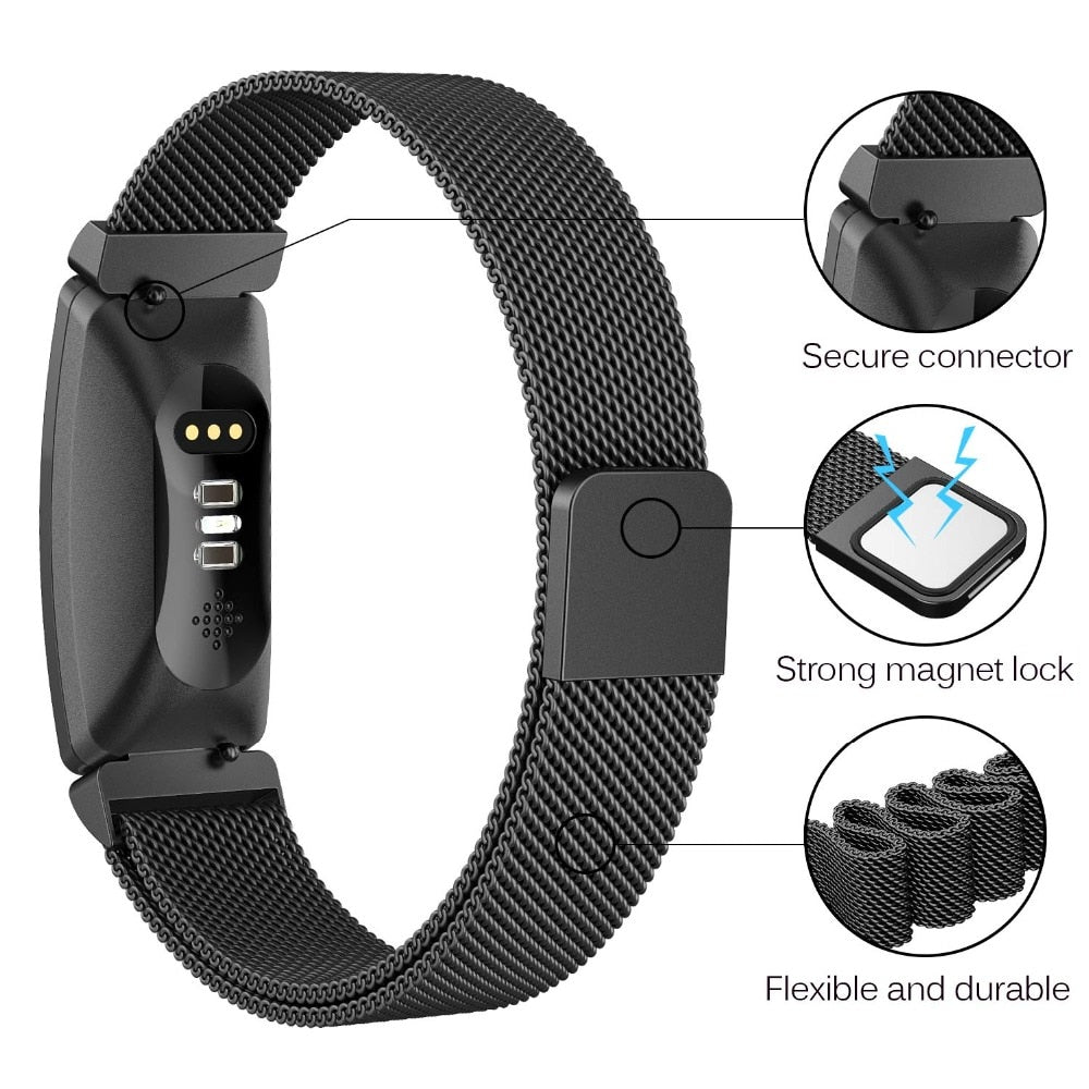 Fitbit Inspire Milanese Mesh