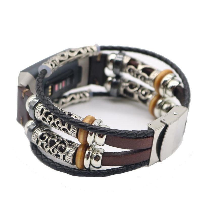 Charge 3 Vintage Band with Charms