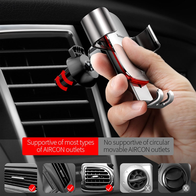 Baseus Gravity Car Phone Holder