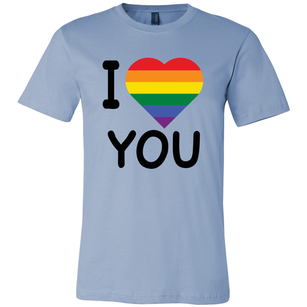 Gildan Womens T-Shirt - Pride I Love You