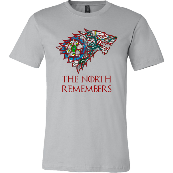 Canvas TShirt - The North Remembers