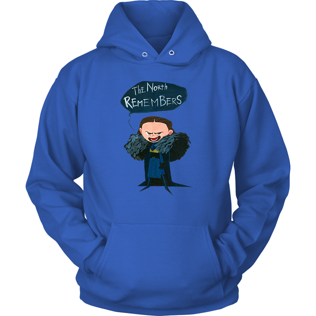 Unisex Hoodie - The North Remembers