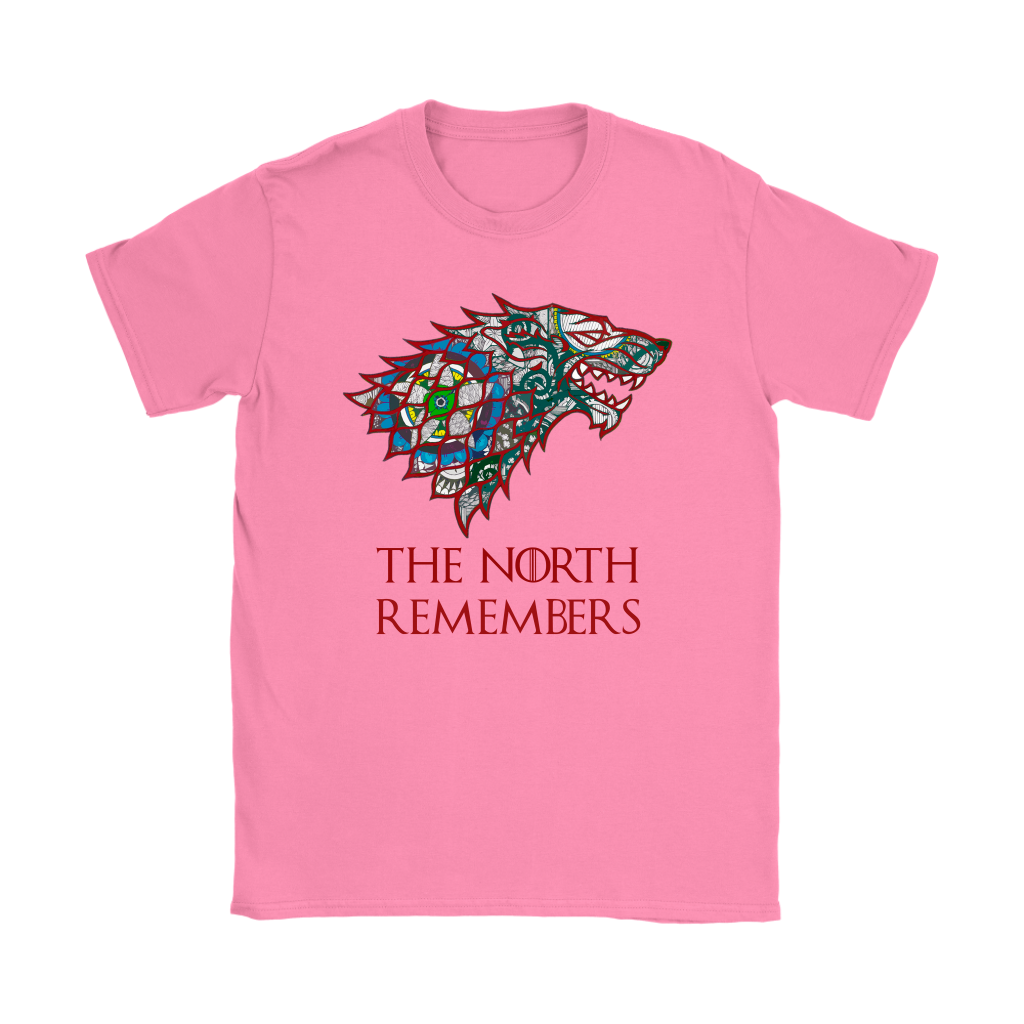 Gildan Womens TShirt - The North Remembers