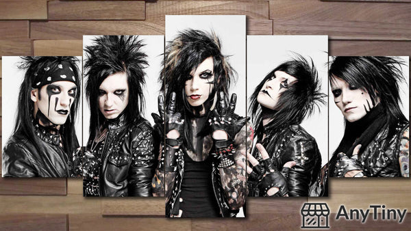 Canvas Wall Art -  Black Veil Brides