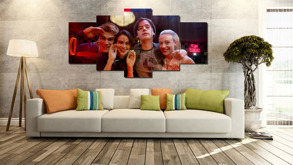 Canvas Wall Art -  Riverdale Full Cast 2