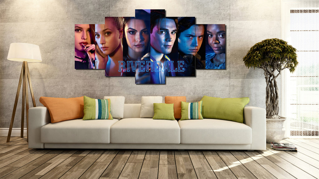 Canvas Wall Art -  Riverdale Full Cast 1