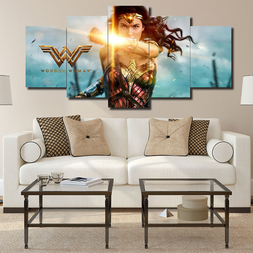 Canvas Wall Art -  Wonder Woman