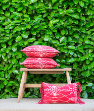 Natural Dye Handwoven Pillow - Memento Style