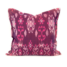 Jewel Toned Cotton Ikat Pillow Collection - Memento Style