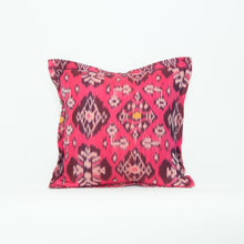 Jewel Toned Cotton Ikat Pillow Collection