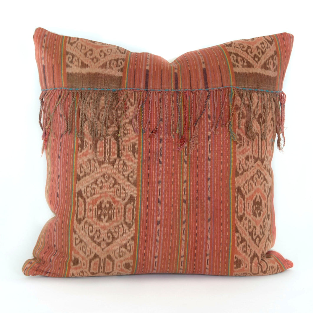 Vintage Natural Dye Pillow - Memento Style