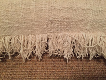 Natural Fringe Pillow - Memento Style