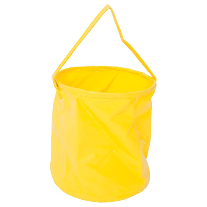 Collapsible Campfire Bucket, Yellow