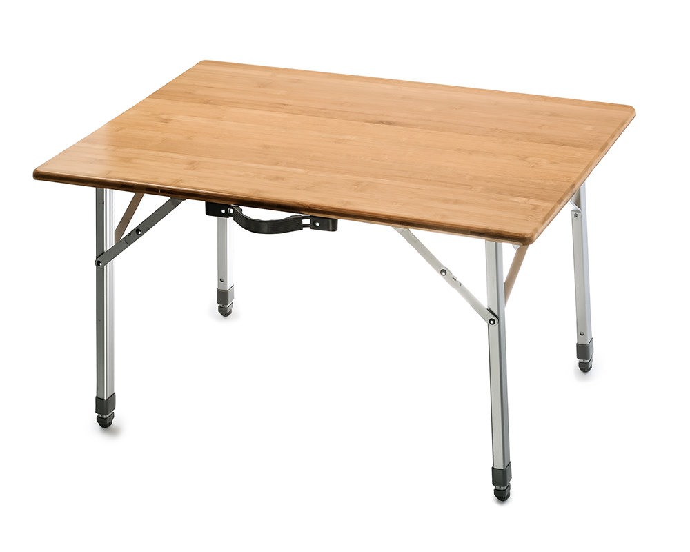 Charmant Camco Folding Bamboo Table