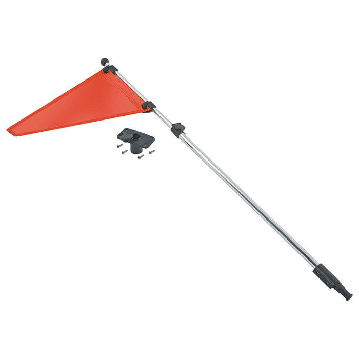 Shoreline Marine Safety Flag with Mount